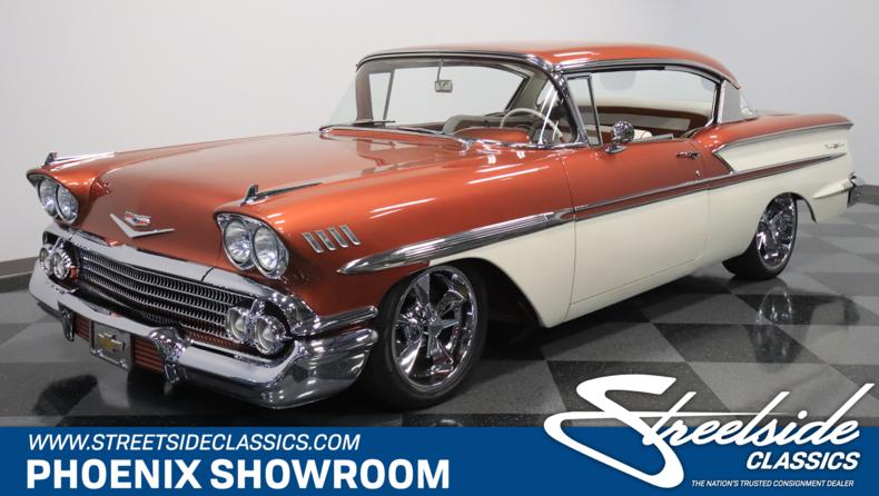 For Sale: 1958 Chevrolet Bel Air
