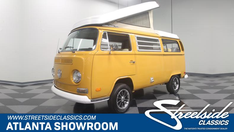 For Sale: 1972 Volkswagen Westfalia Camper