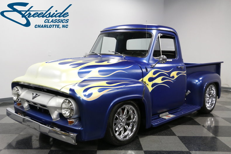 1954 ford f 100 streetside classics the nation 39 s trusted classic car consignment dealer. Black Bedroom Furniture Sets. Home Design Ideas