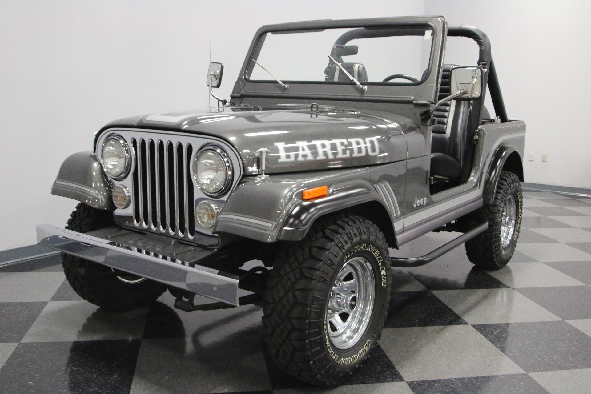 1986 Jeep Cj7 Laredo For Sale  84445