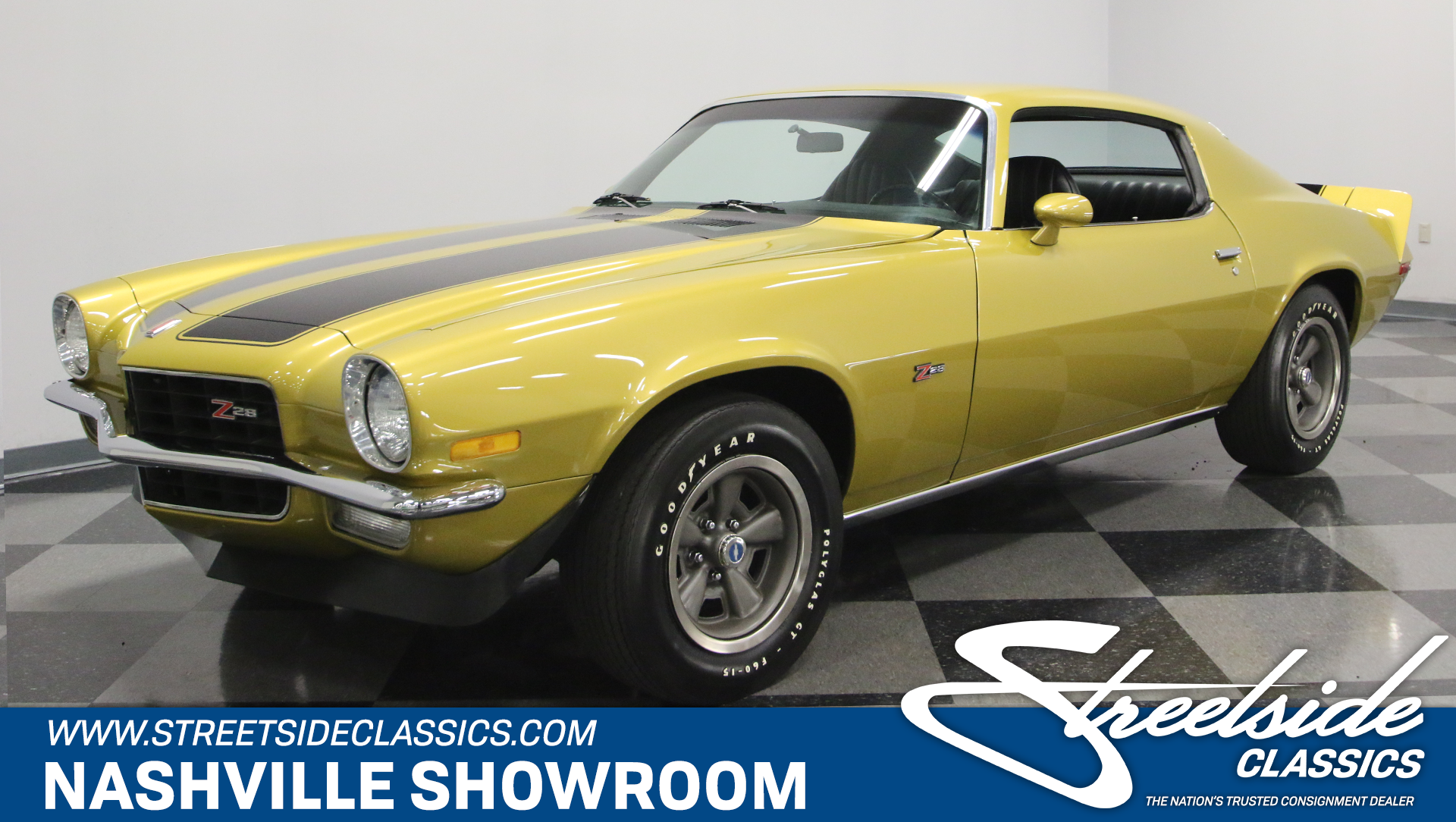 1972 Chevrolet Camaro Streetside Classics The Nation S Trusted Classic Car Consignment Dealer