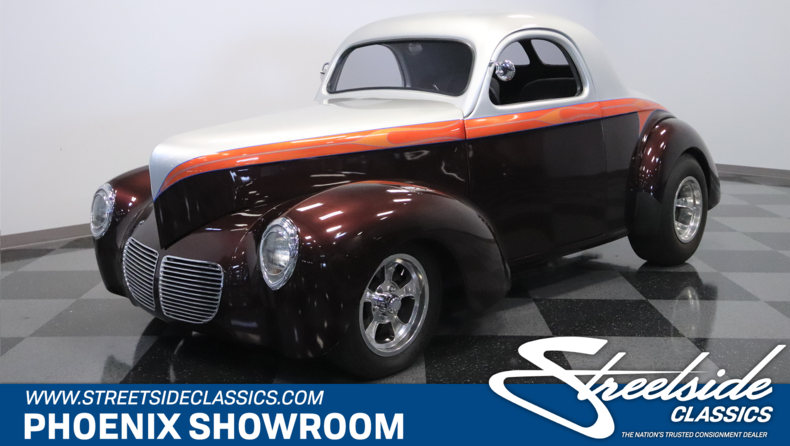 For Sale: 1940 Willys Coupe