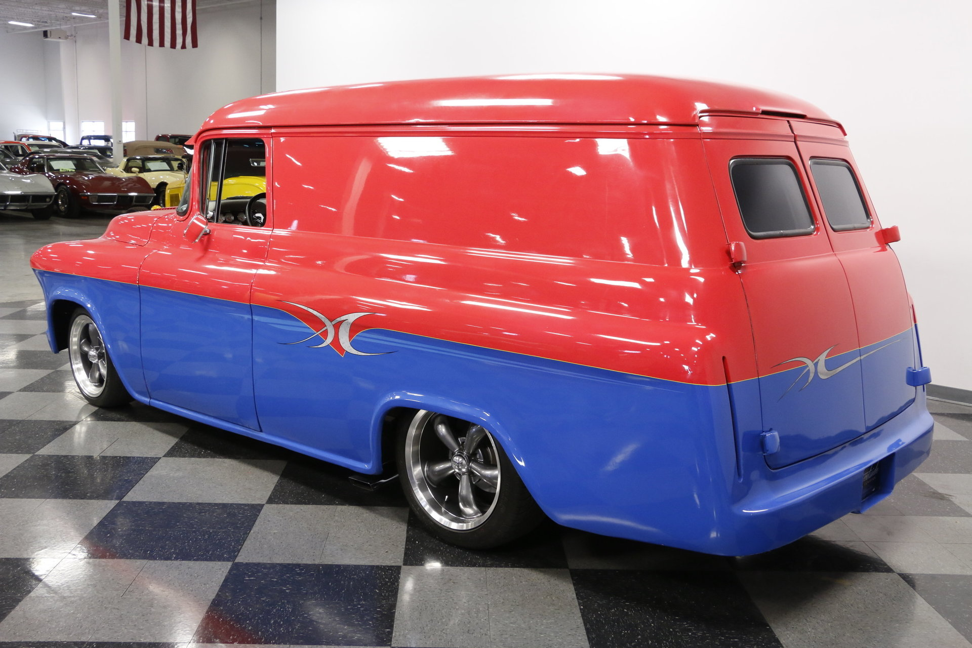 1955 Chevrolet Panel Delivery Streetside Classics The Nations 1961 Chevy Van Show More Photos