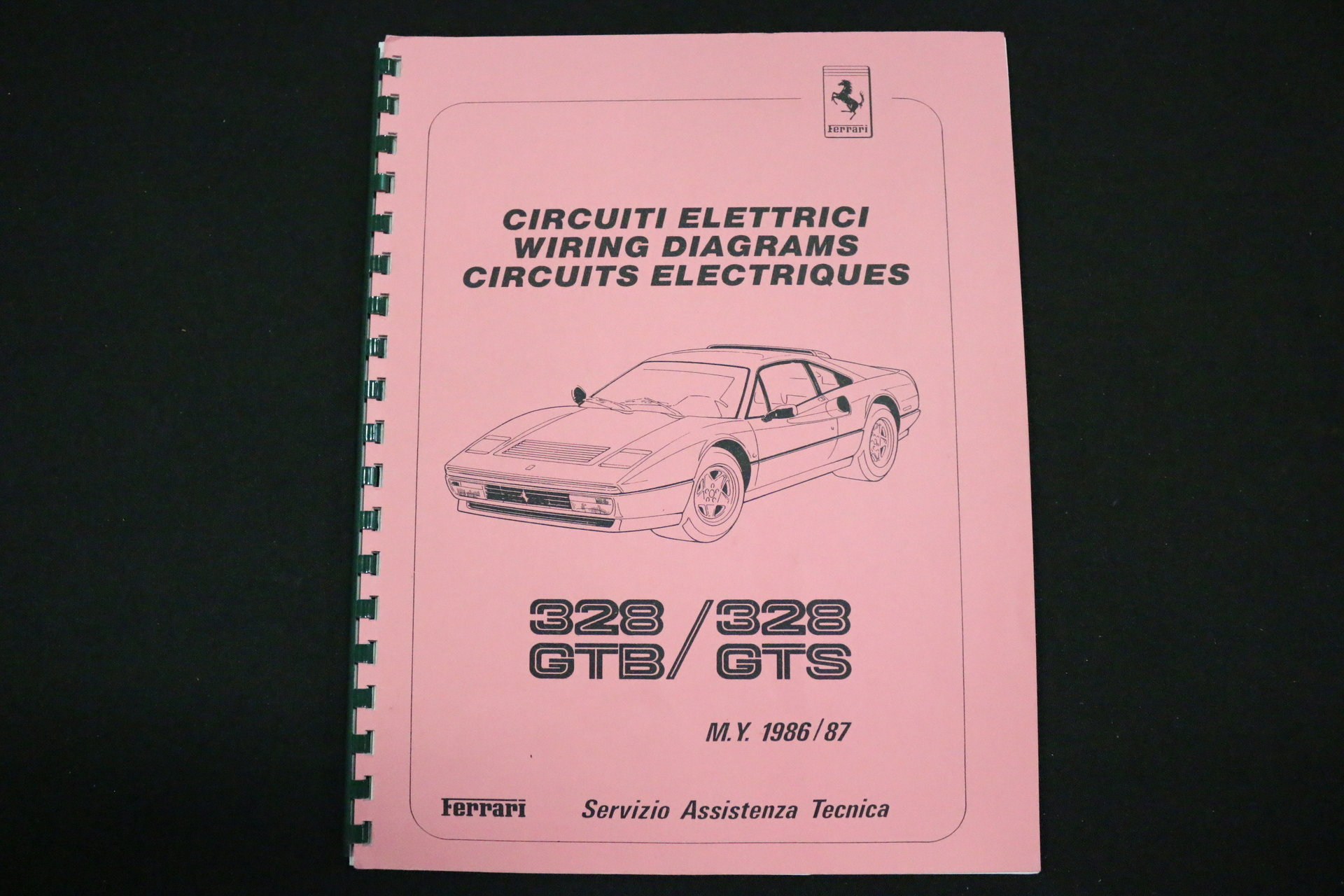 1986 Ferrari 328 Gts Streetside Classics The Nations Trusted 360 Wiring Diagrams View