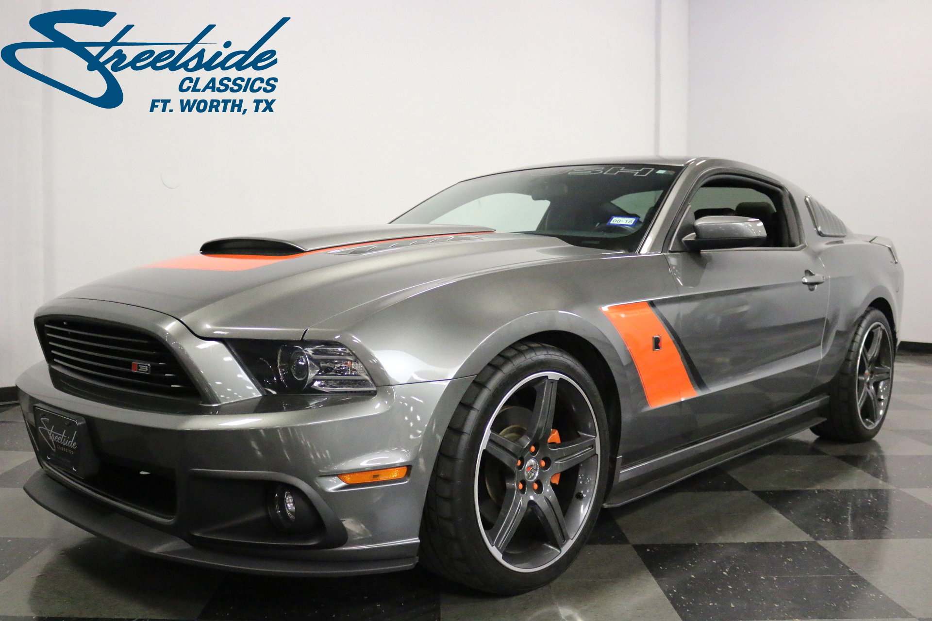 2014 ford mustang streetside classics the nation 39 s trusted classic car consignment dealer. Black Bedroom Furniture Sets. Home Design Ideas