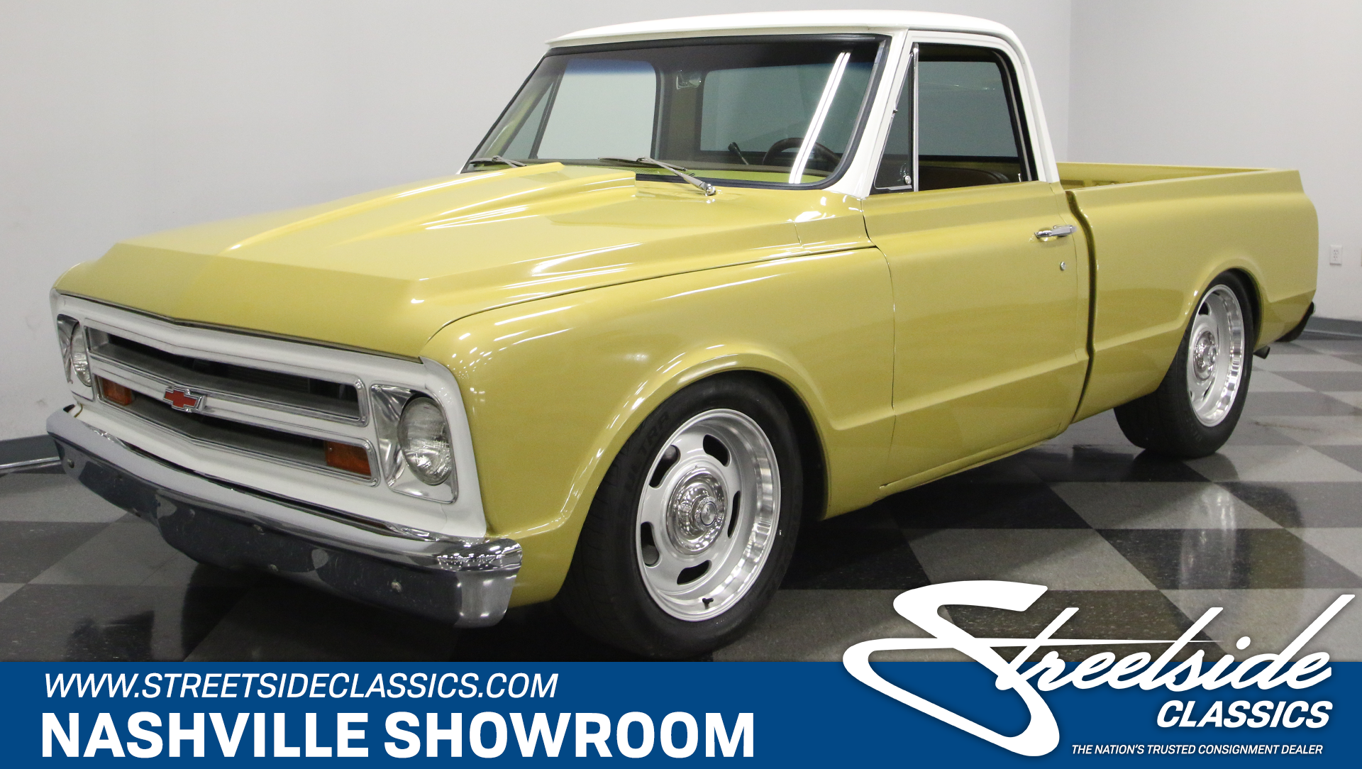 1968 Chevrolet C10 Streetside Classics The Nations Trusted Chevy Pick Up Show More Photos