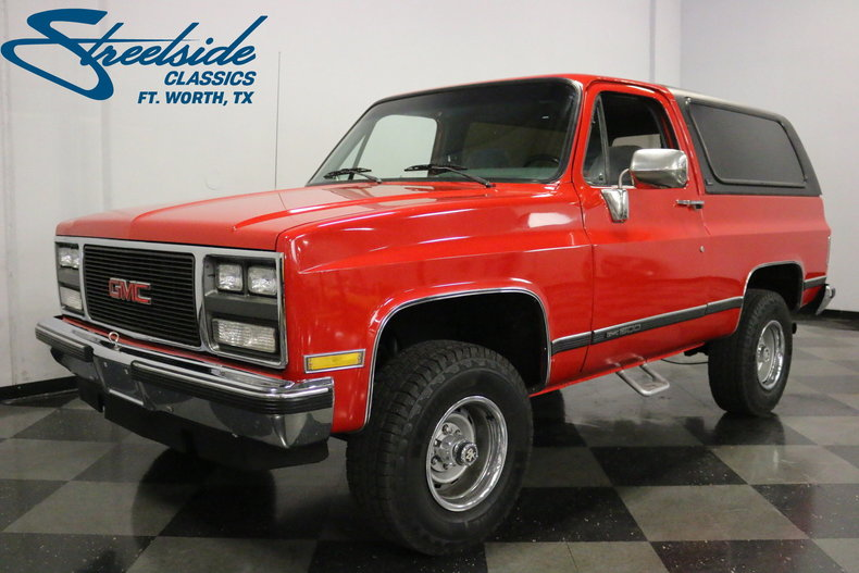 For Sale: 1989 GMC Jimmy 4x4