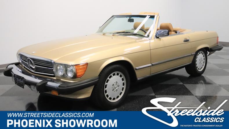 For Sale: 1986 Mercedes-Benz 560SL