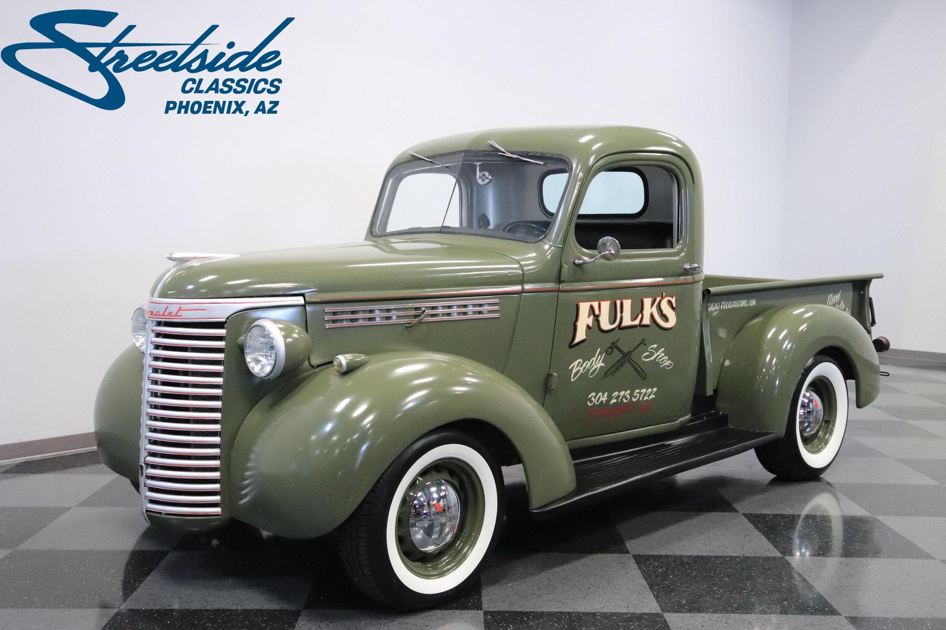 1940 chevrolet 3 4 ton pickup streetside classics the nation 39 s trusted classic car. Black Bedroom Furniture Sets. Home Design Ideas