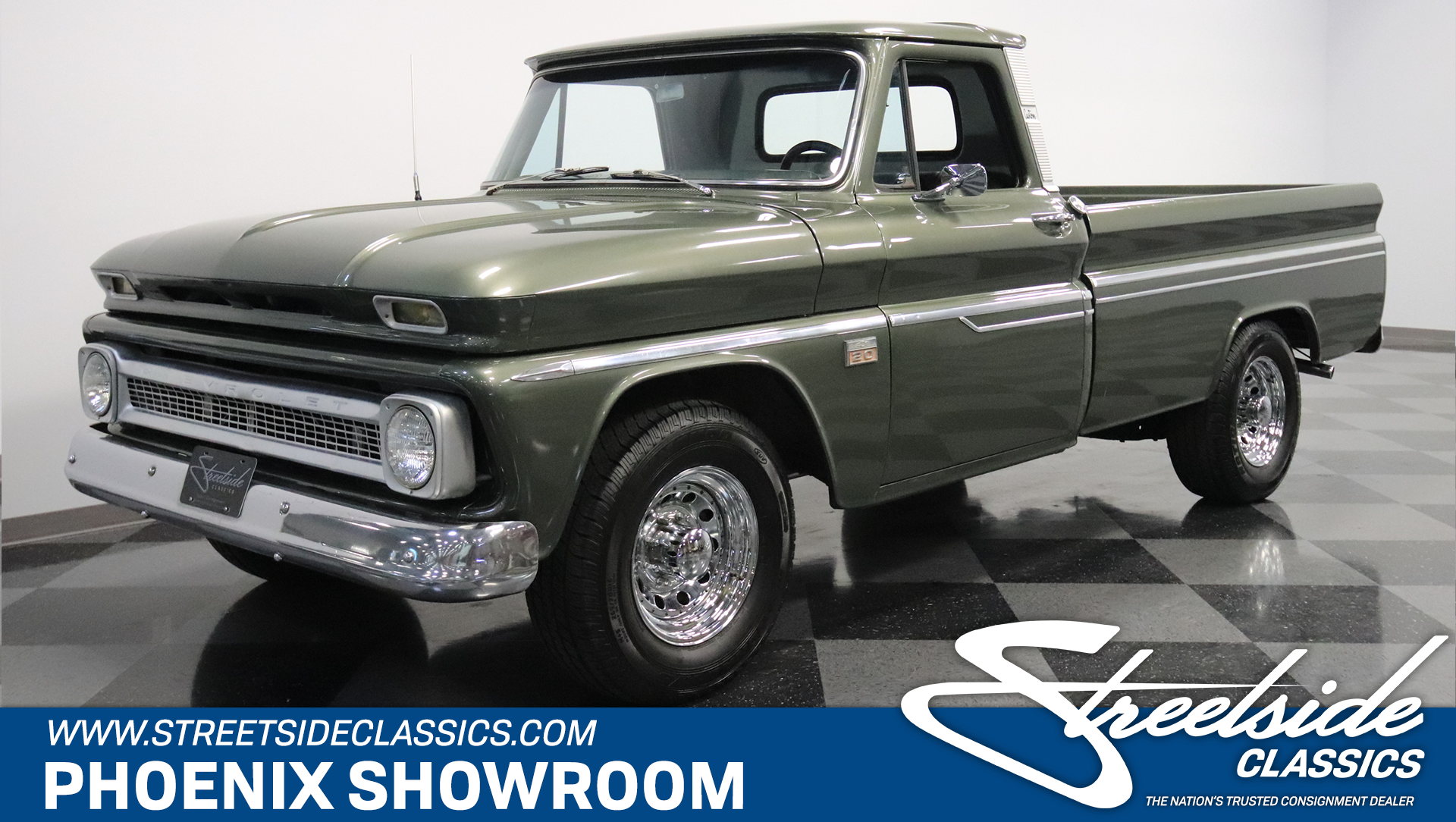 1966 Chevrolet C20 Streetside Classics The Nations Trusted Pickup Truck Play Video