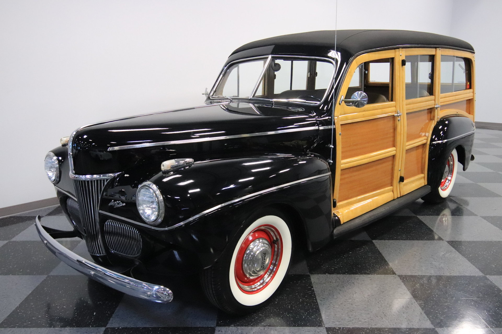 1941 Ford Super Deluxe Woody Wagon For Sale 86578 Mcg Tudor