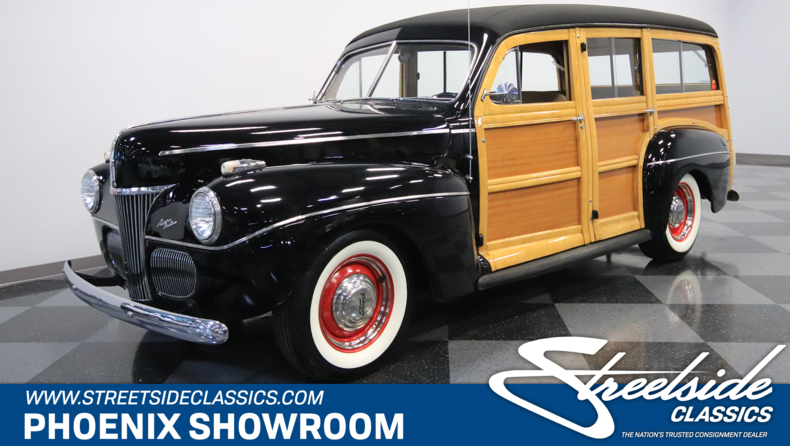 For Sale: 1941 Ford Super Deluxe