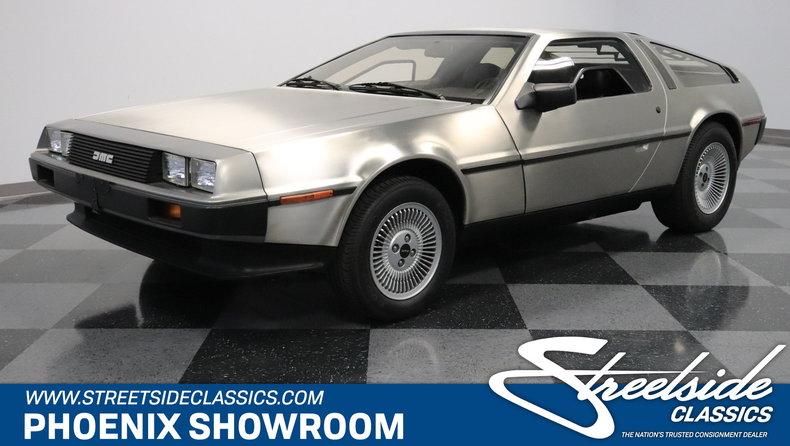 For Sale: 1981 DeLorean DMC-12