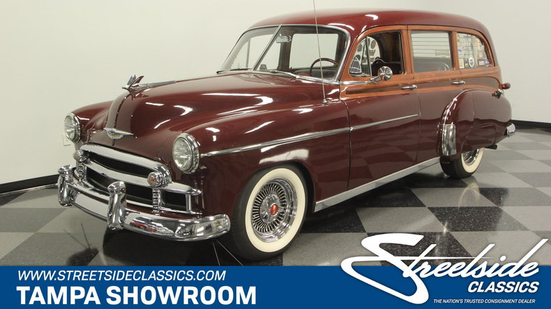 For Sale: 1950 Chevrolet Tin Woody Wagon
