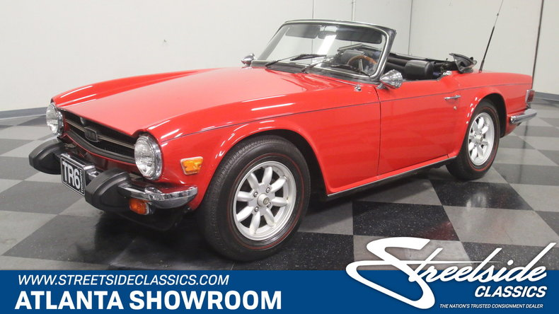 For Sale: 1976 Triumph TR-6