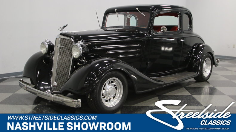 For Sale: 1934 Chevrolet 5 Window Coupe