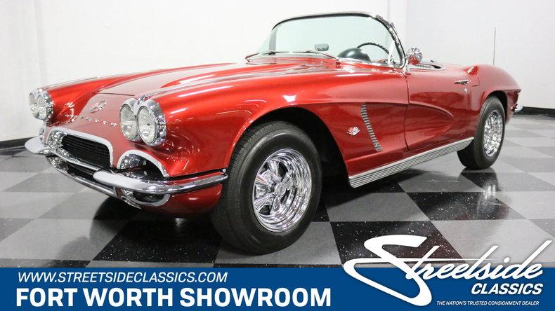 For Sale: 1962 Chevrolet Corvette