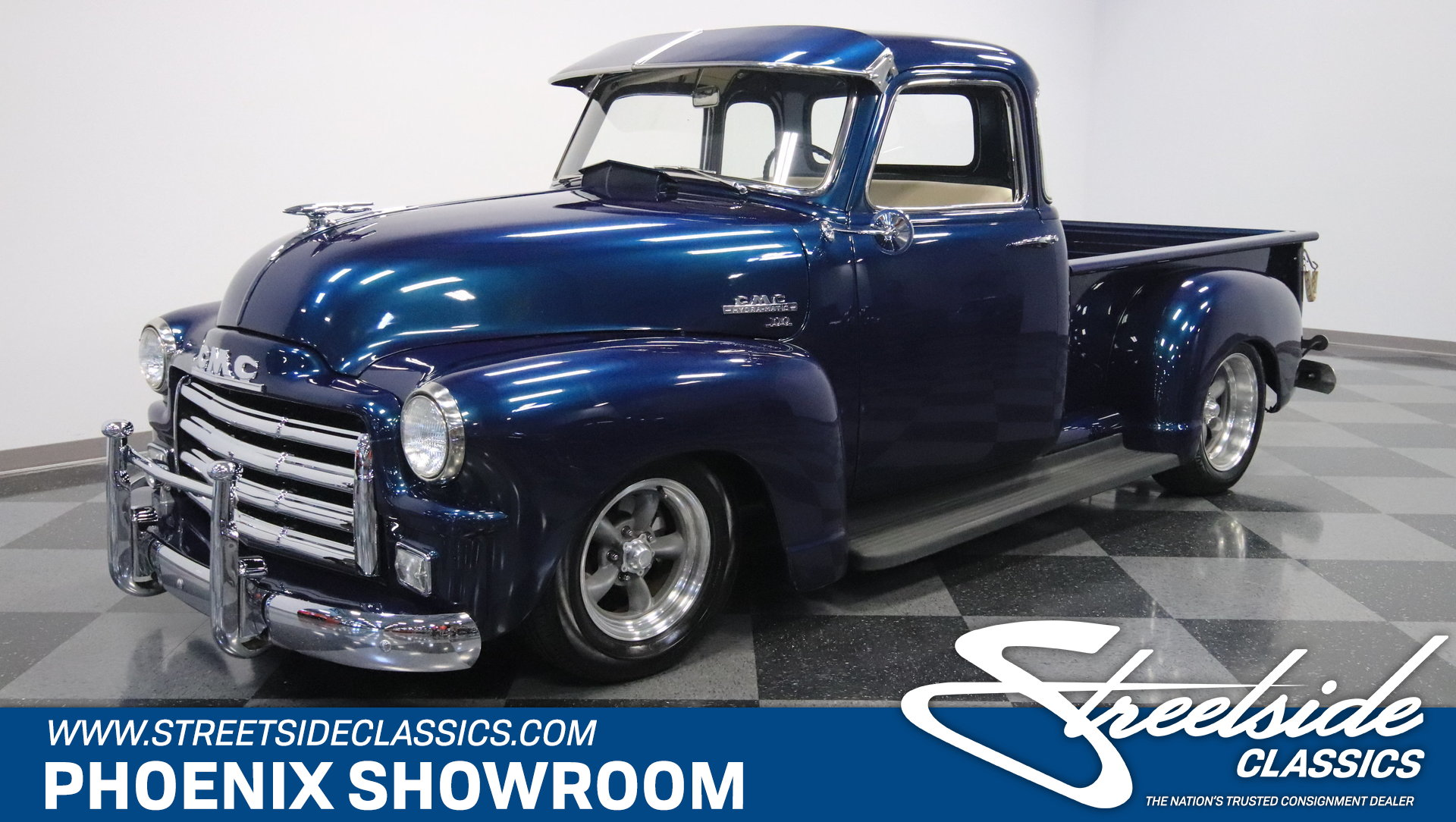 1954 Gmc 100 Streetside Classics The Nations Trusted Classic Pickup Truck View 360