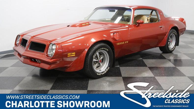 For Sale: 1976 Pontiac Trans Am