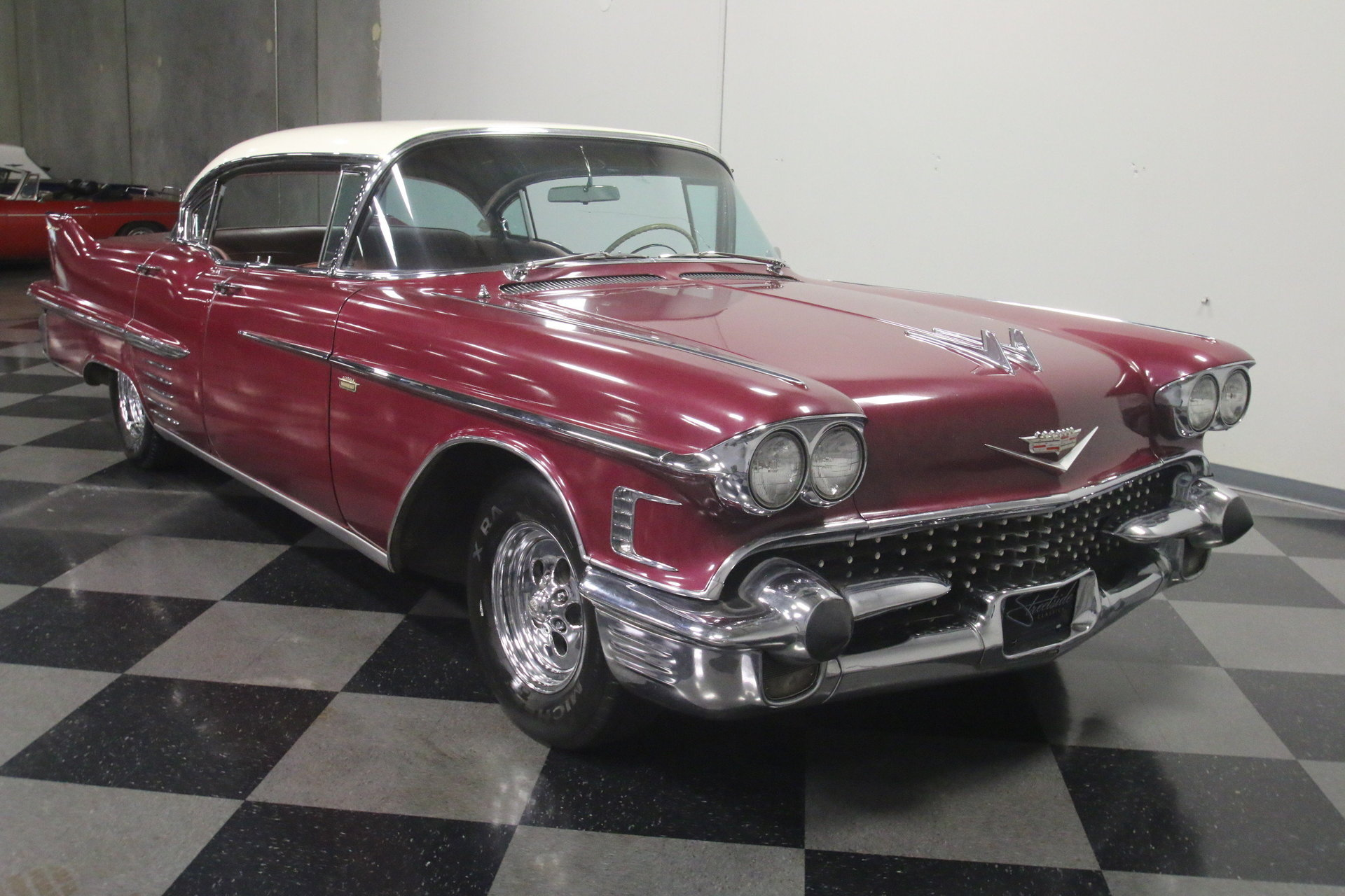 1958 Cadillac Series 62 Streetside Classics The Nations Trusted 50s V8 Engine View 360