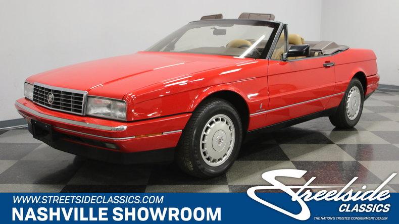For Sale: 1988 Cadillac Allante