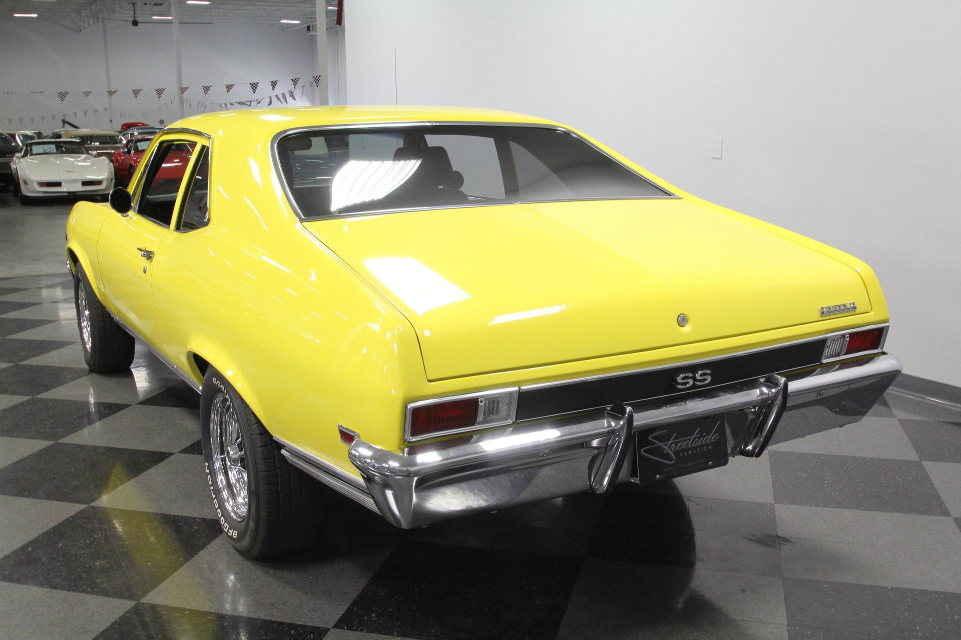 1968 Chevrolet Nova Berlin Motors Chevy Ss For Sale