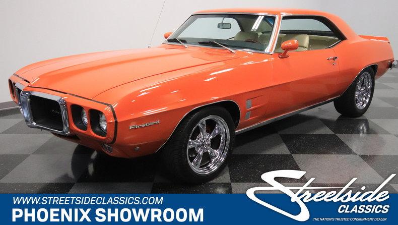 For Sale: 1969 Pontiac Firebird