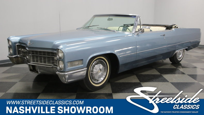For Sale: 1966 Cadillac DeVille