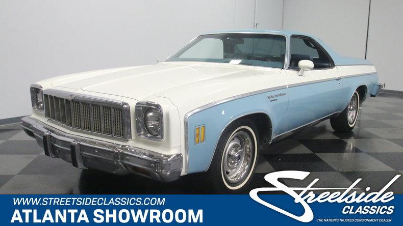 For Sale: 1975 Chevrolet El Camino