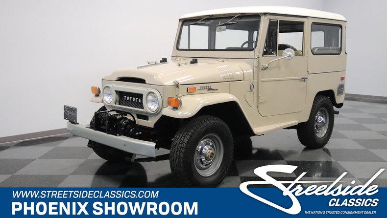 For Sale: 1970 Toyota FJ40