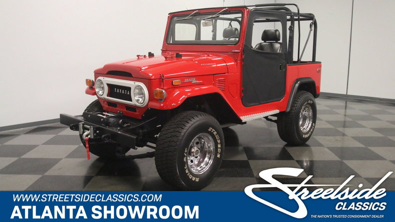 For Sale: 1972 Toyota FJ40