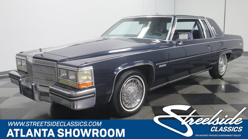 For Sale: 1983 Cadillac Coupe DeVille