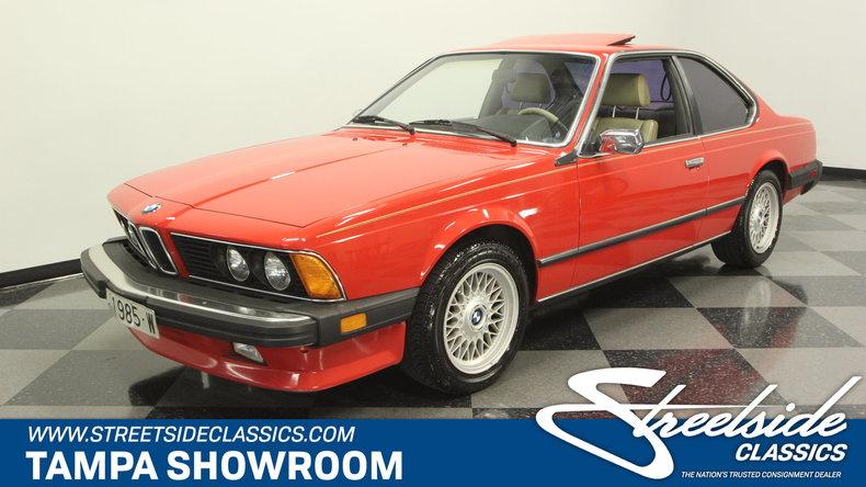 For Sale: 1985 BMW 635csi