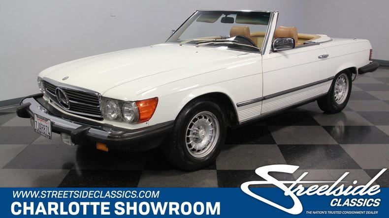 For Sale: 1981 Mercedes-Benz 380SL