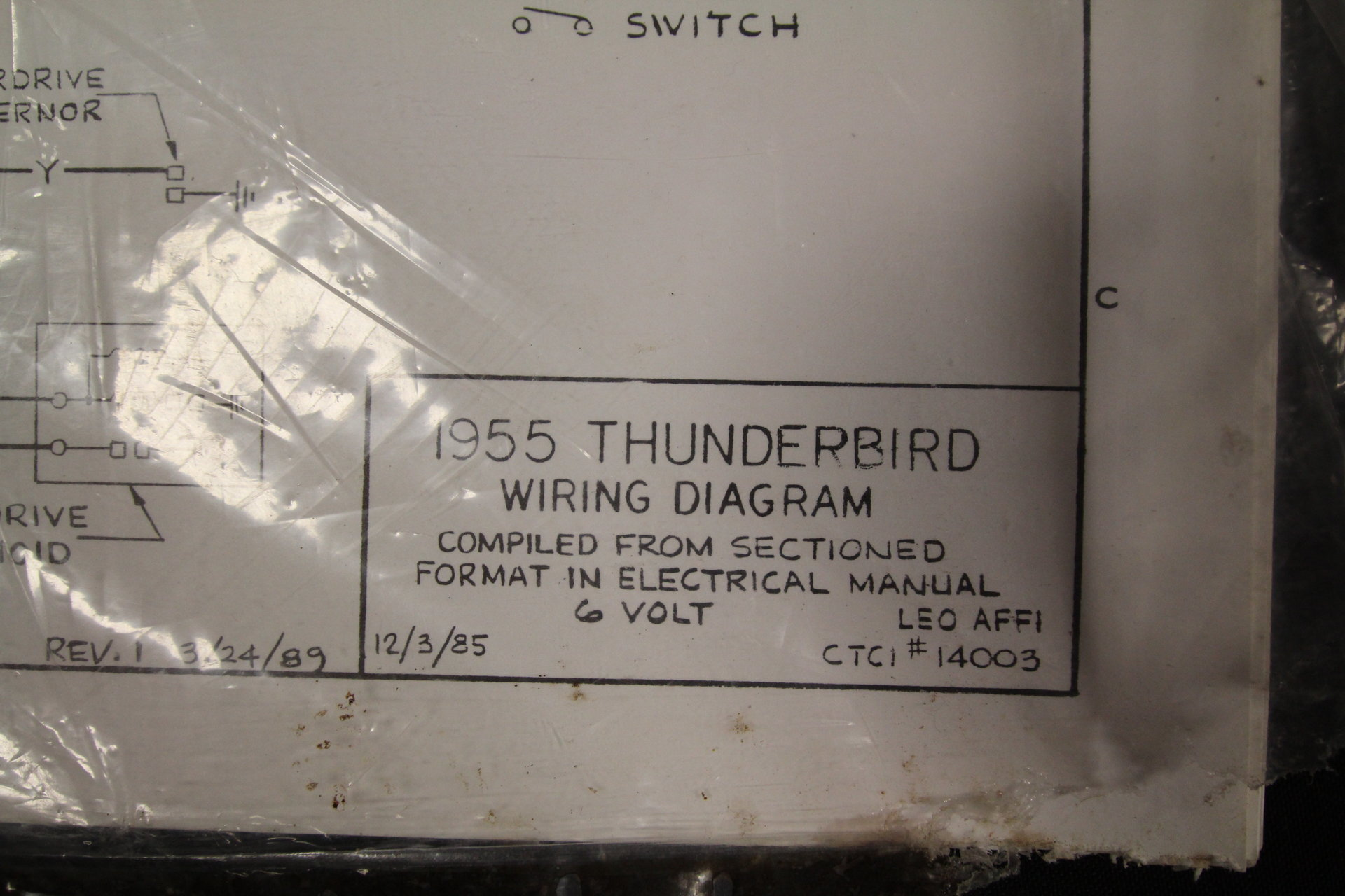 1955 Thunderbird Wiring Diagram Library Clock Time Intermatic T103tc View 360