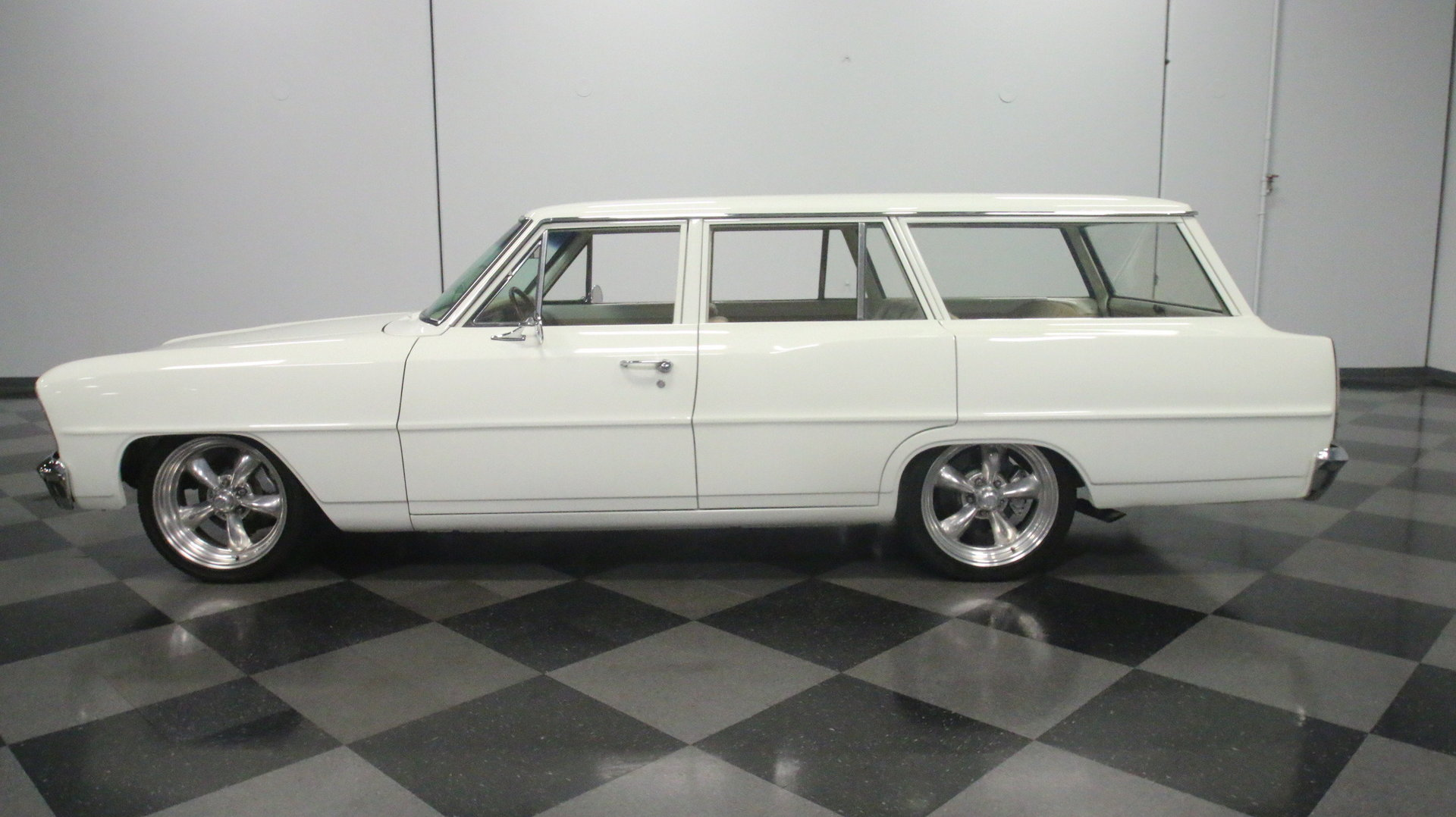 1966 Chevrolet Nova Streetside Classics The Nations Trusted Station Wagon View 360