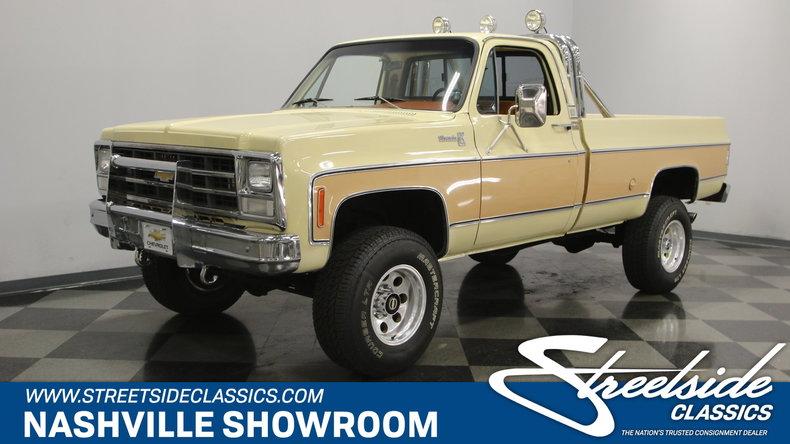 For Sale: 1978 Chevrolet K-20