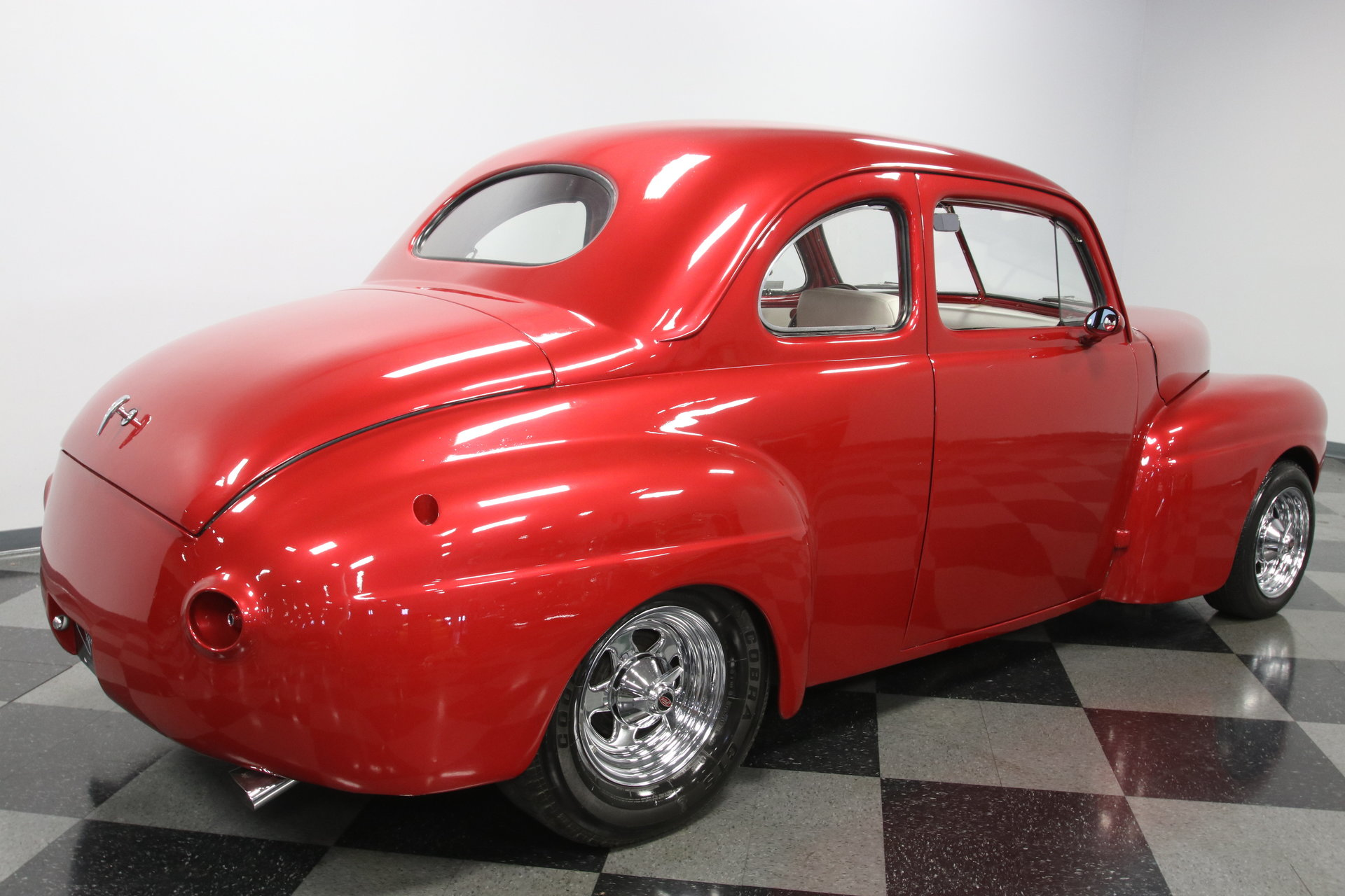 1941 Ford Coupe Streetrod For Sale 108127 Mcg Red