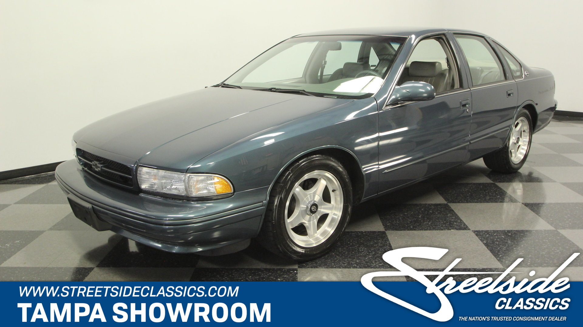 For Sale: 1995 Chevrolet Impala. Spincar view. Play Video