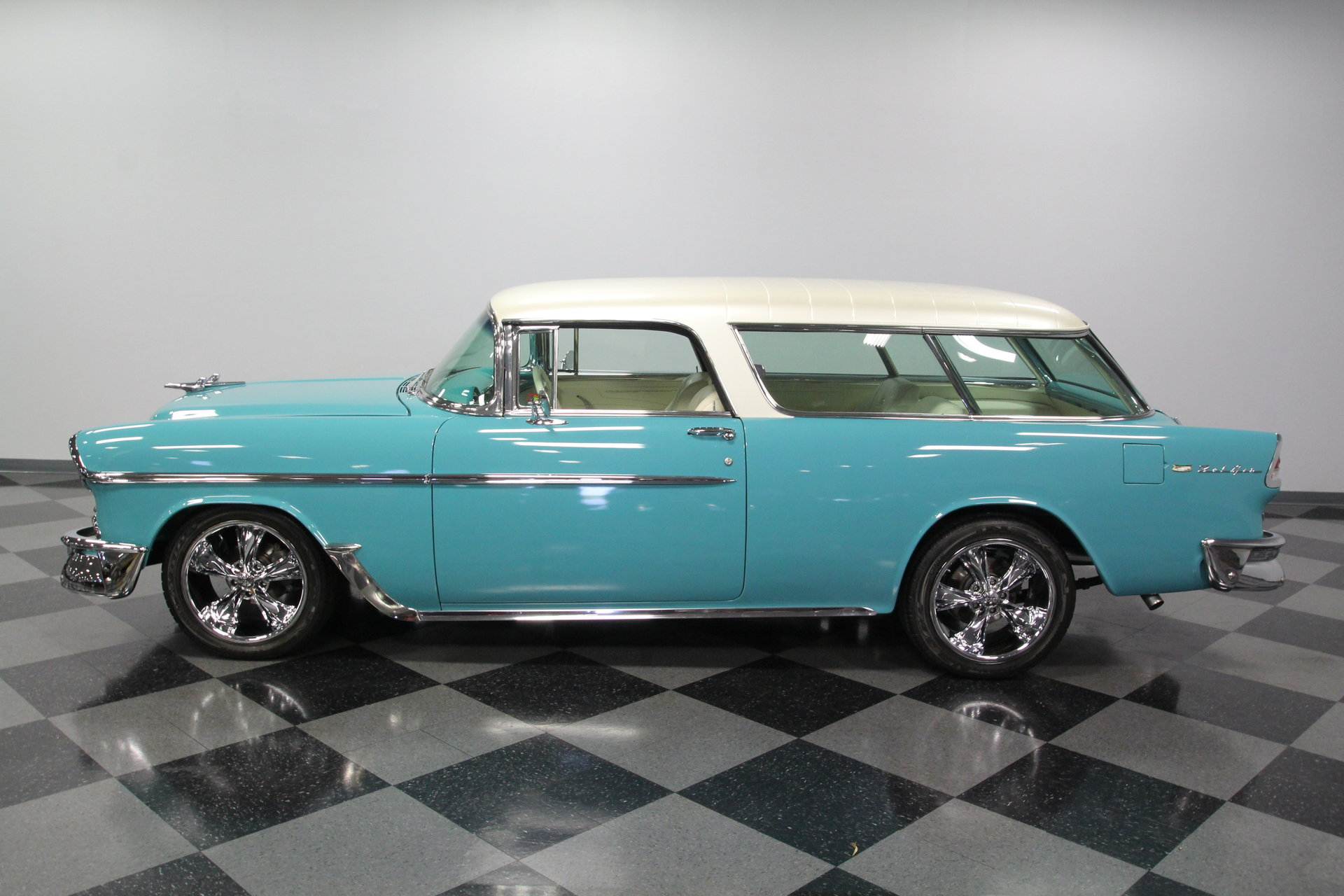 1957 Chevrolet Bel Air Streetside Classics The Nations Trusted Chevy Station Wagon Show More Photos