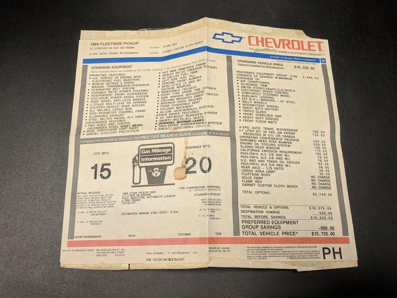 1989 Chevrolet C/K 1500 65