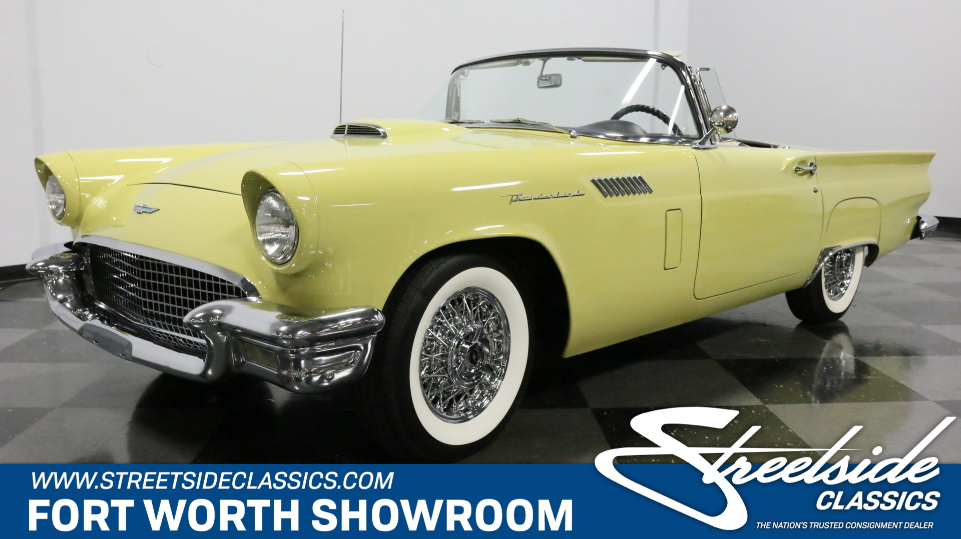 1957 Ford Thunderbird For Sale 108763 Mcg