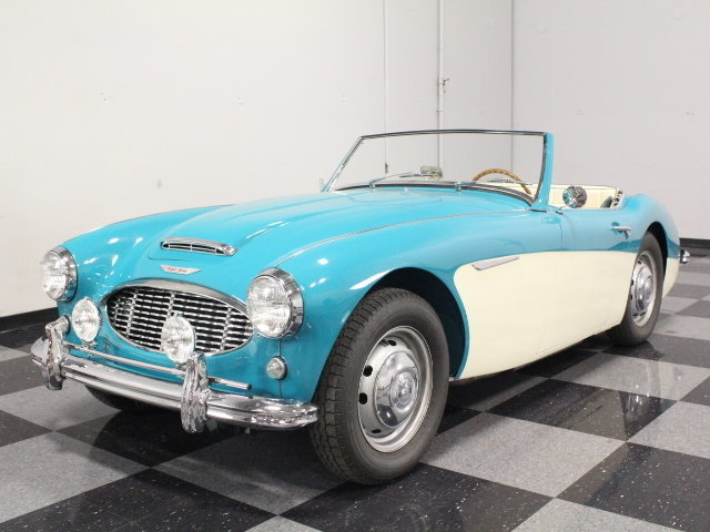 For Sale: 1958 Austin Healey 100-6