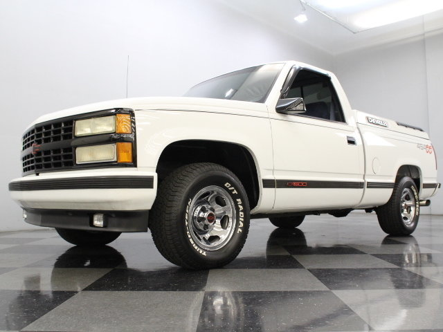 White 454 ss truck
