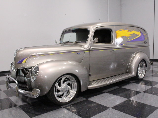 For Sale: 1940 Ford Panel Delivery