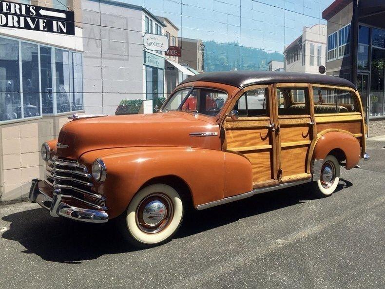 1947 Chevrolet Fleetmaster Woody Wagon
