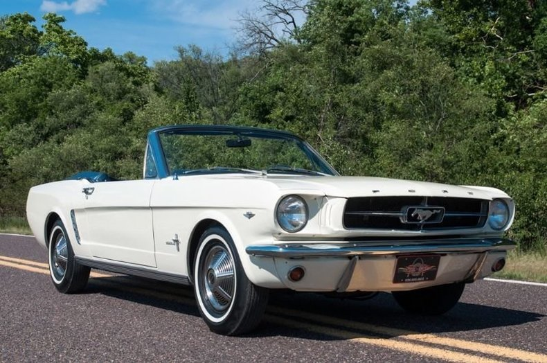 1965 Ford Mustang D Code Convertible