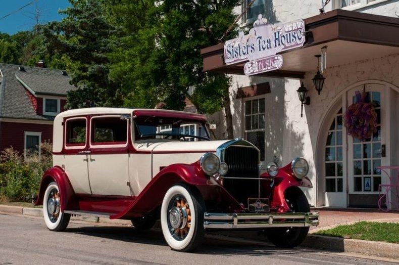 1931 Pierce Arrow 8 43 Club Sedan
