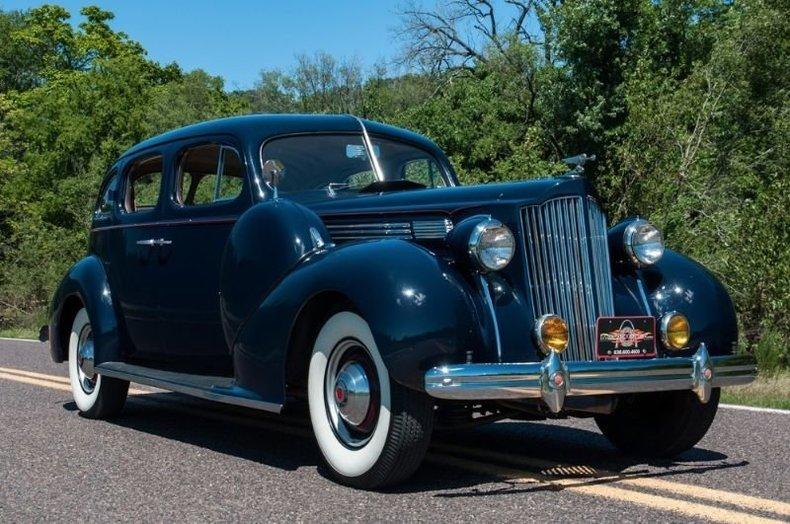 1938 Packard 8 Sedan