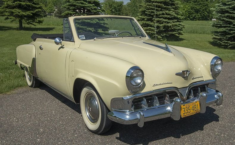 1952 Studebaker Champion Convertible